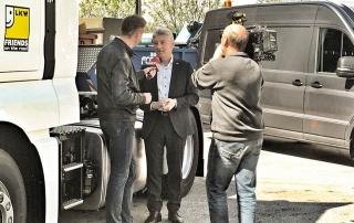 Interview mit dem Sprecher der LKW-Importeure Franz Weinberger über Abgasreinigung und Umweltaspekte