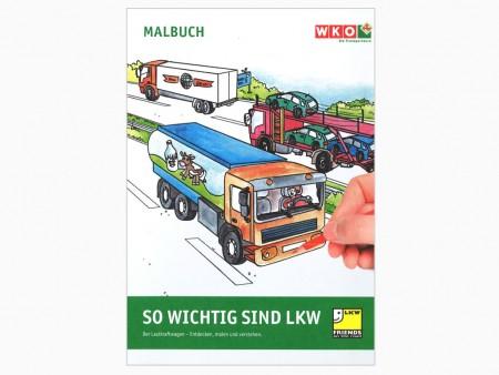 Malbuch - So wichtig sind LKW