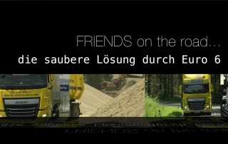 "Themenspot ""FRIENDS on the road … die saubere Lösung durch Euro 6"""